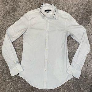 Zara Man Slim-Fit Button Down Shirt